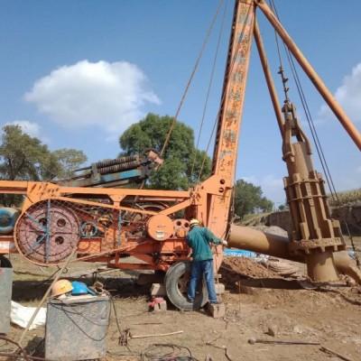 保定冲击钻打桩施工,反循环钻机施工,旋挖钻机施工